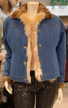 Load image into Gallery viewer, Denim Jacket with Fur