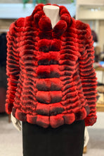 Load image into Gallery viewer, Red Chinchilla Jacket