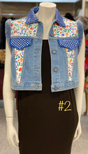 Load image into Gallery viewer, Denim & Beaver Vest