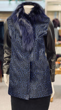 Load image into Gallery viewer, Blue Acid Wash Fox Jacket