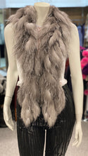 Load image into Gallery viewer, Fox Fur Fringe Boa Scarf