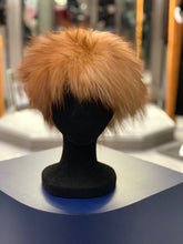 Load image into Gallery viewer, Knitted Fox Fur Headband