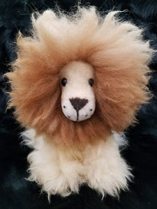 Lamb's Fur Lion Stuffed Animal Toy