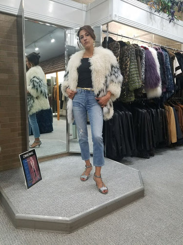Lamb and Fox Fur Jacket