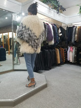 Load image into Gallery viewer, Lamb and Fox Fur Jacket