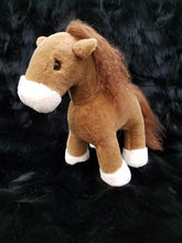 Load image into Gallery viewer, Sheared Mink Horse Stuffed Animal Toy