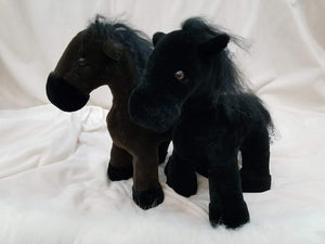 Sheared Mink Horse Stuffed Animal Toy