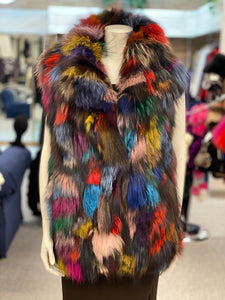Multi-Color Fox Vest