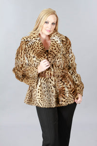 Lippi Cat Fur Jacket