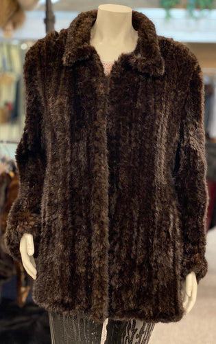 Ranch Knitted Mink Jacket