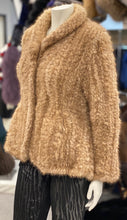 Load image into Gallery viewer, Pastel Knitted Mink Jacket