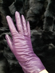 Italian Lambskin Leather Gloves