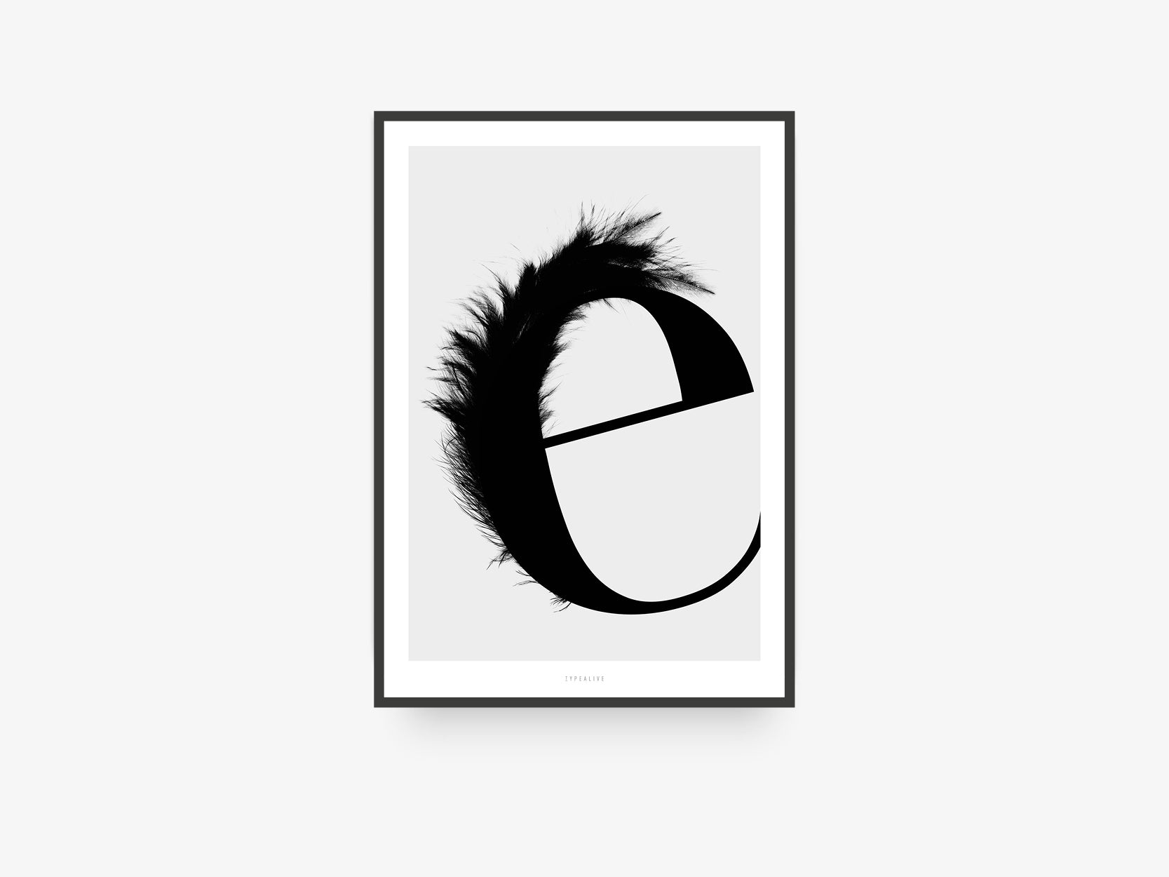 Print / ABC Flying Letters - E