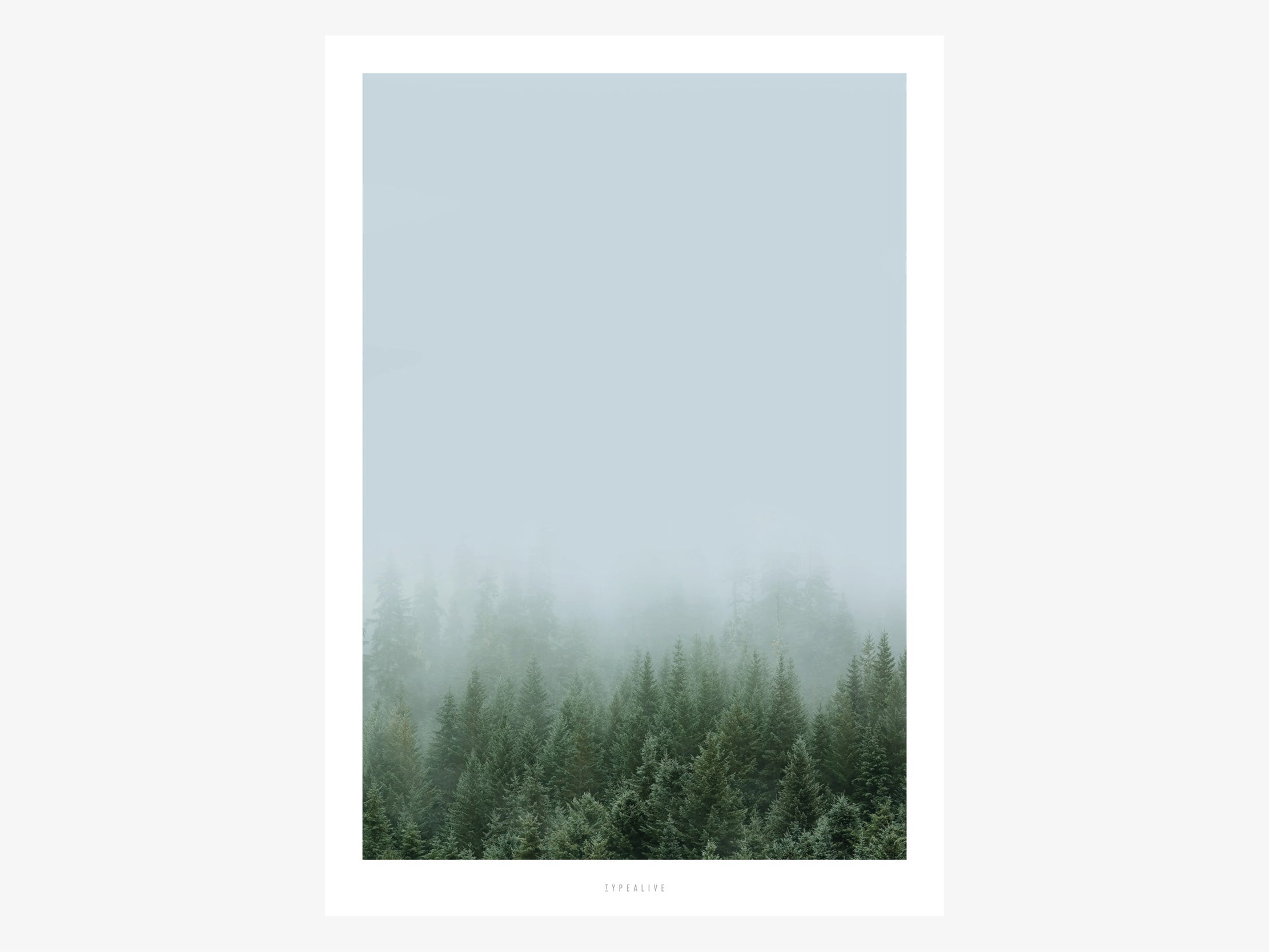 Print / A Quiet Place No. 1