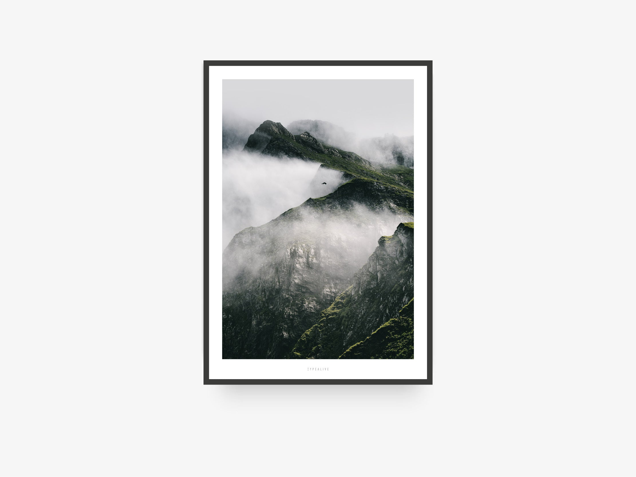 Print / A Quiet Place No. 2