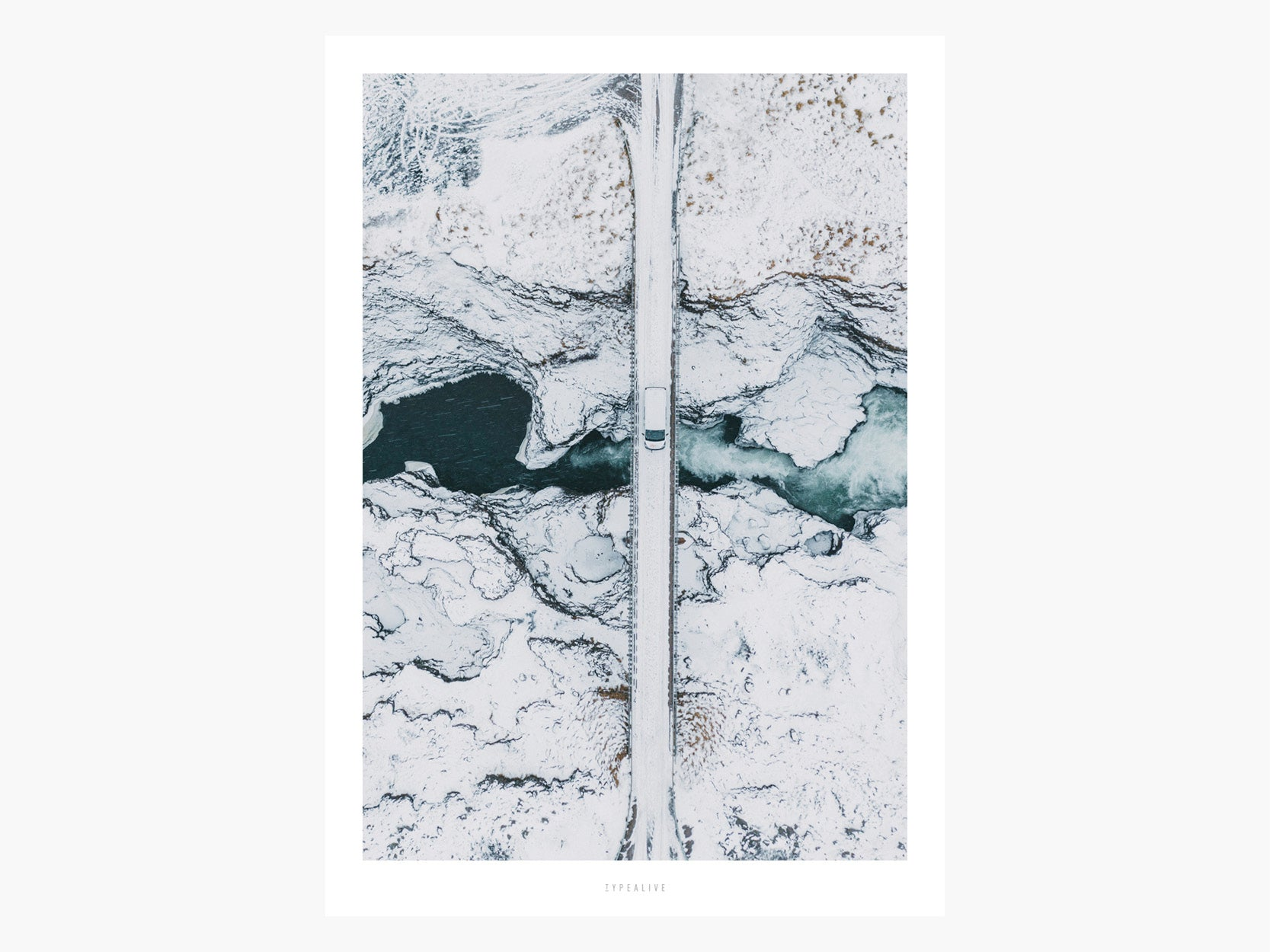 Print / Above The Roads No. 1