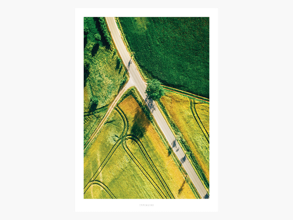 Print / Above The Roads No. 5
