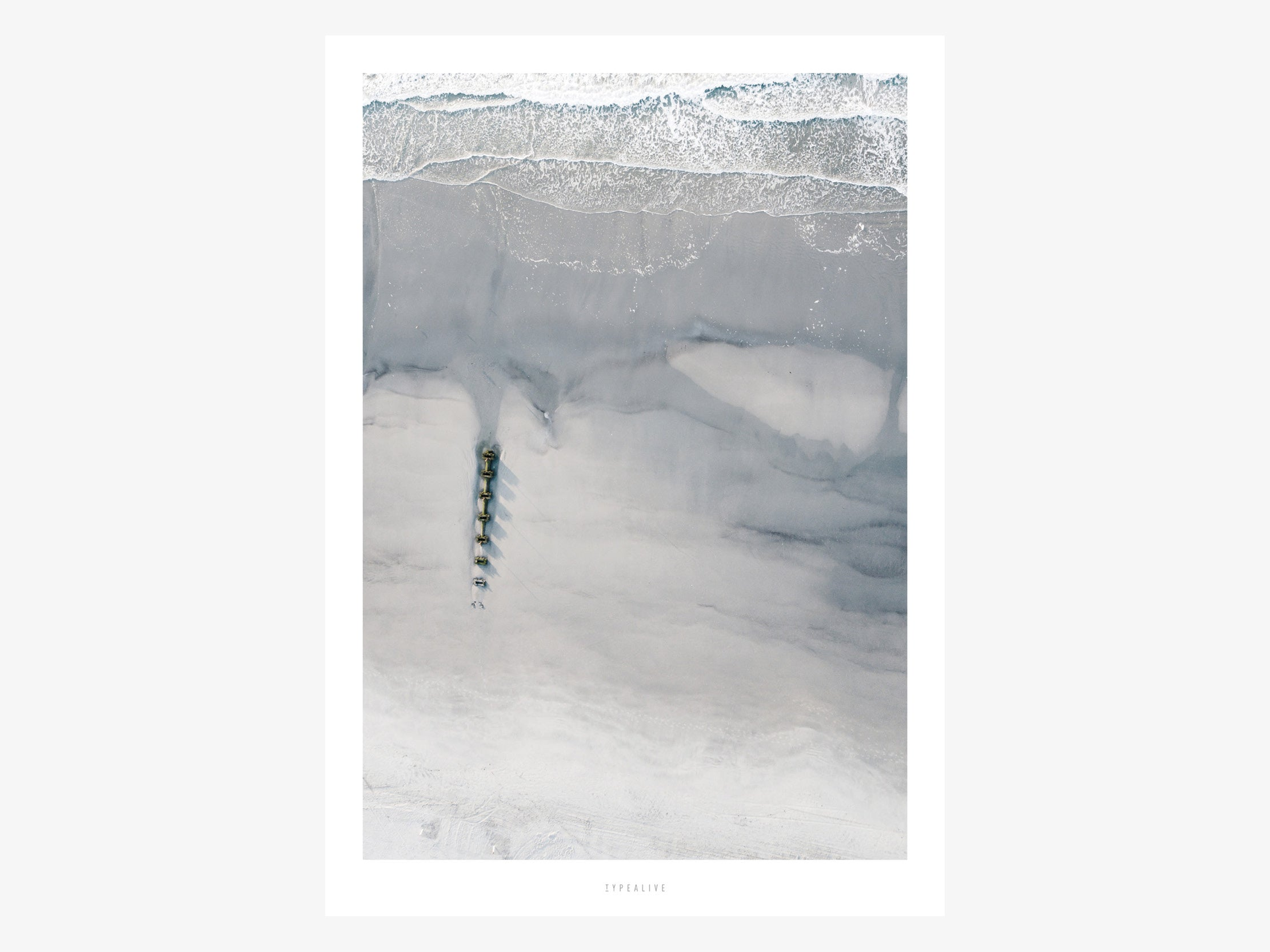 Print / Above The Beach No. 2