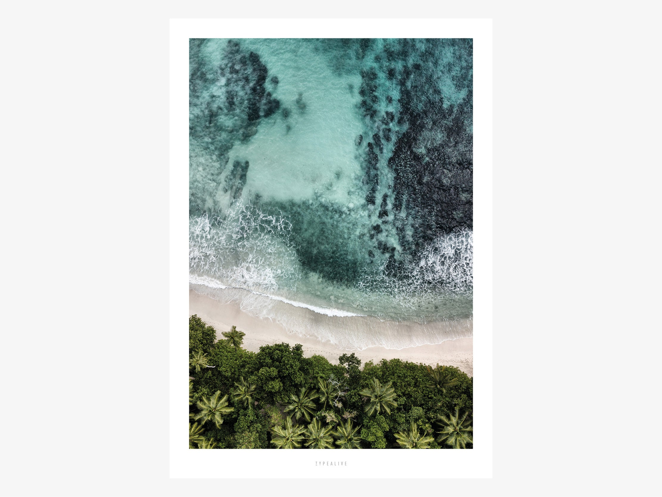 Print / Above The Beach No. 3
