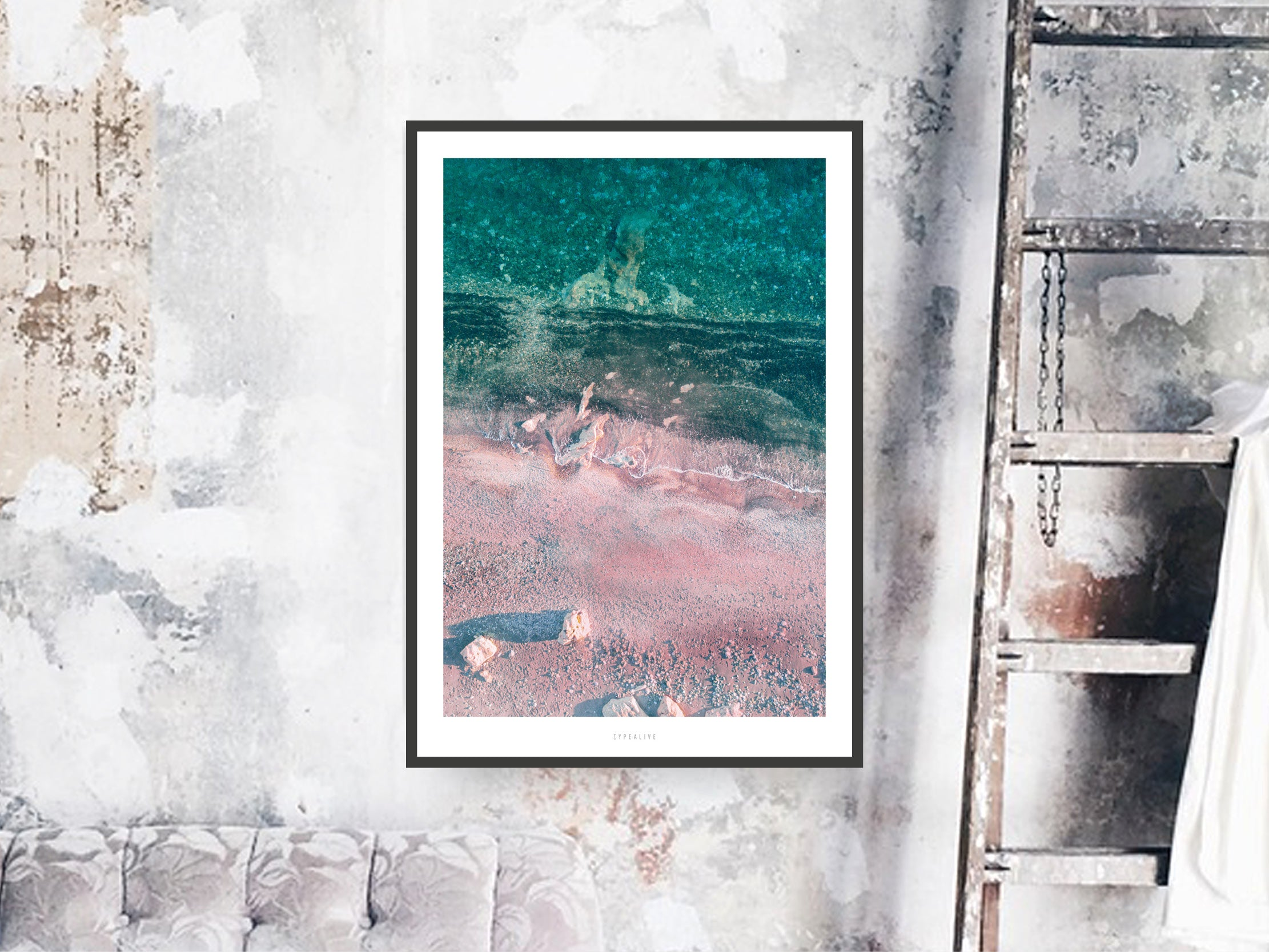Print / Above The Beach No. 4