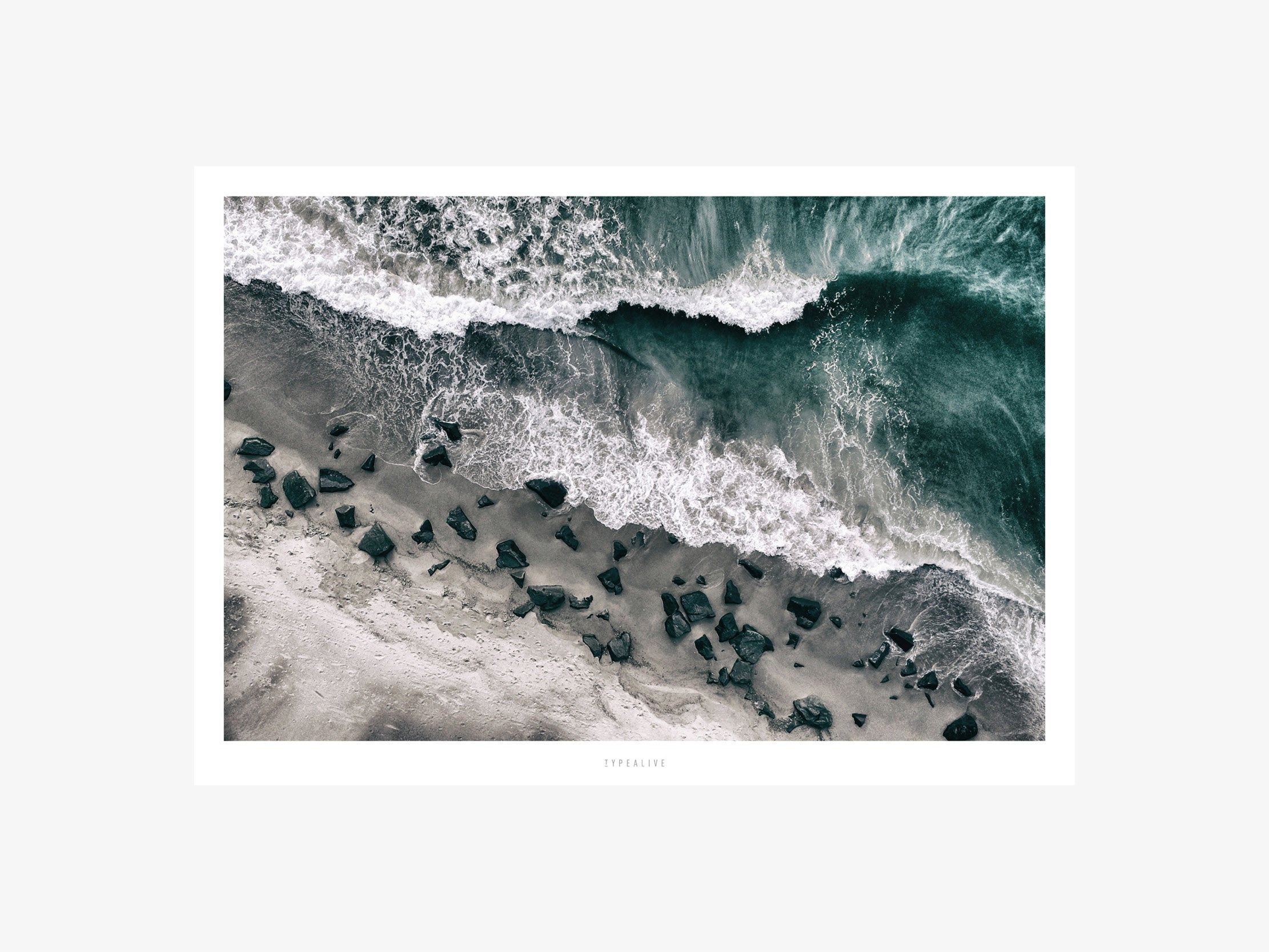Print / Above The Sea No. 1