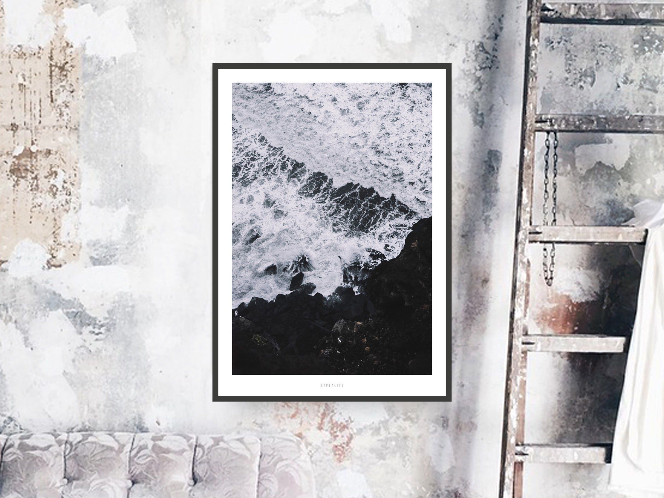 Print / Above The Sea No. 3