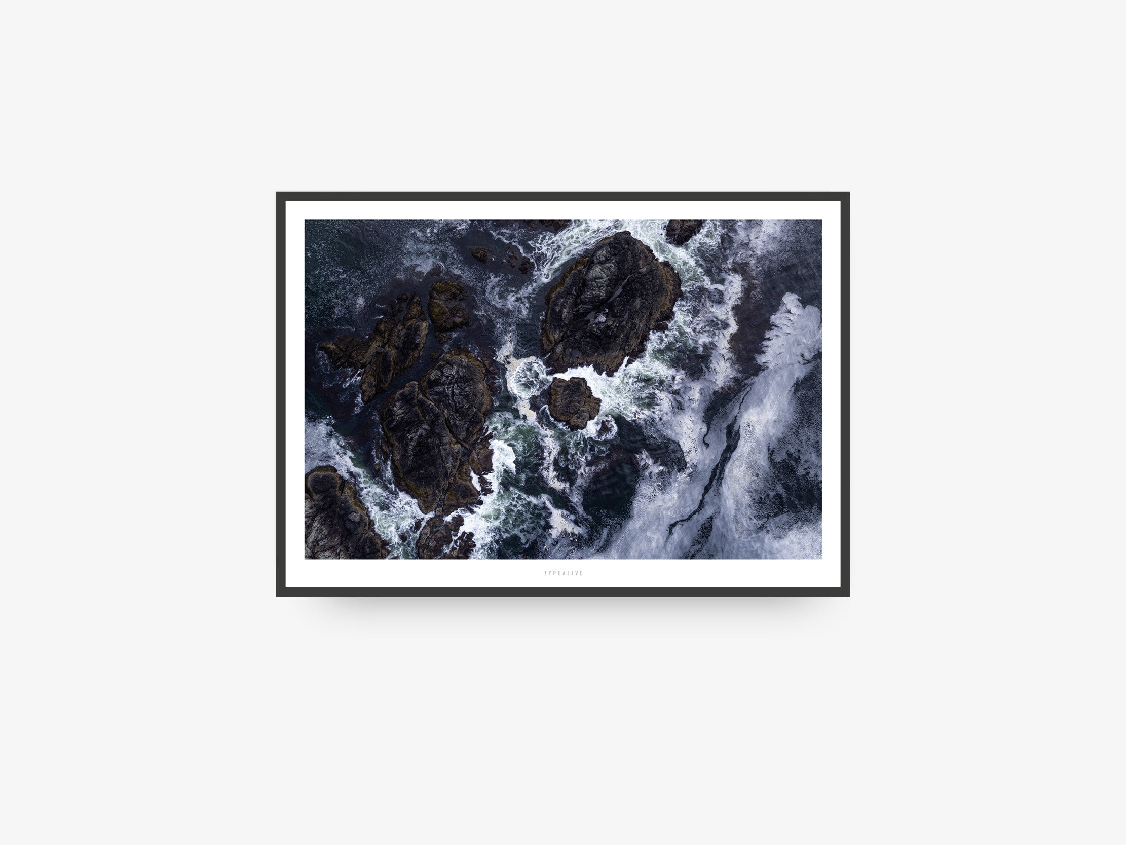 Print / Above The Sea No. 4