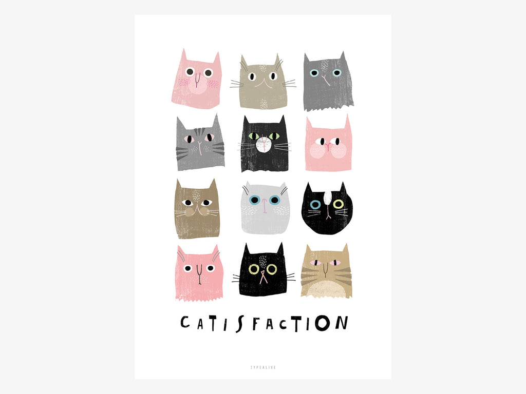 Print / Catisfaction No. 1
