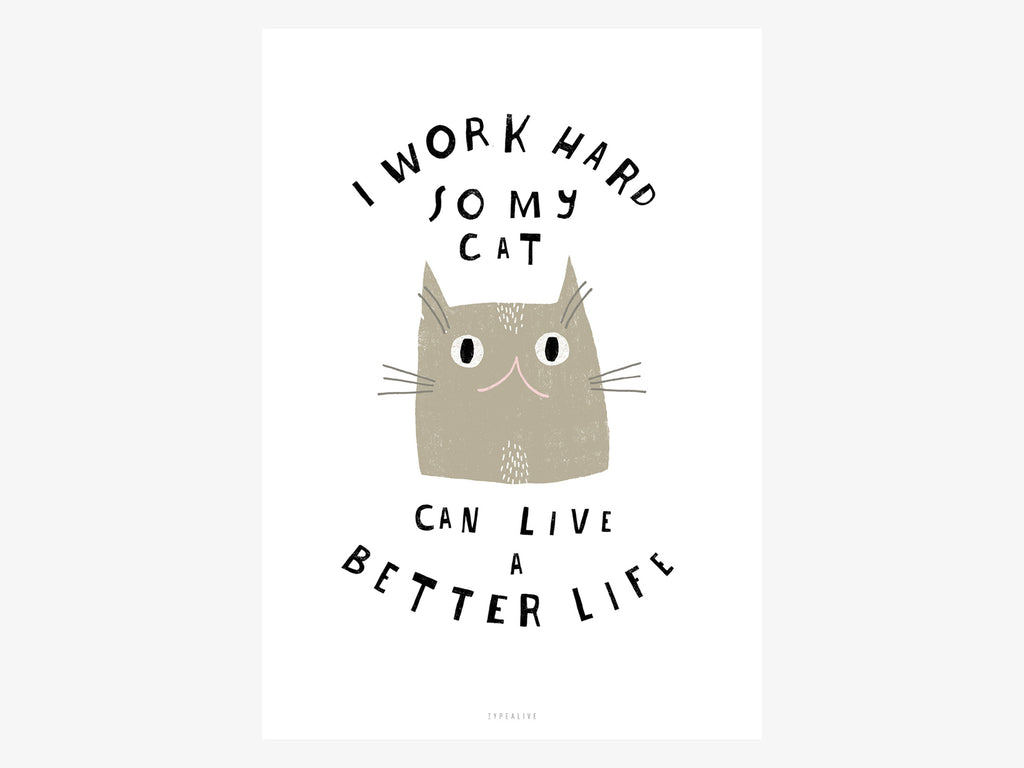 Print / Catisfaction No. 12