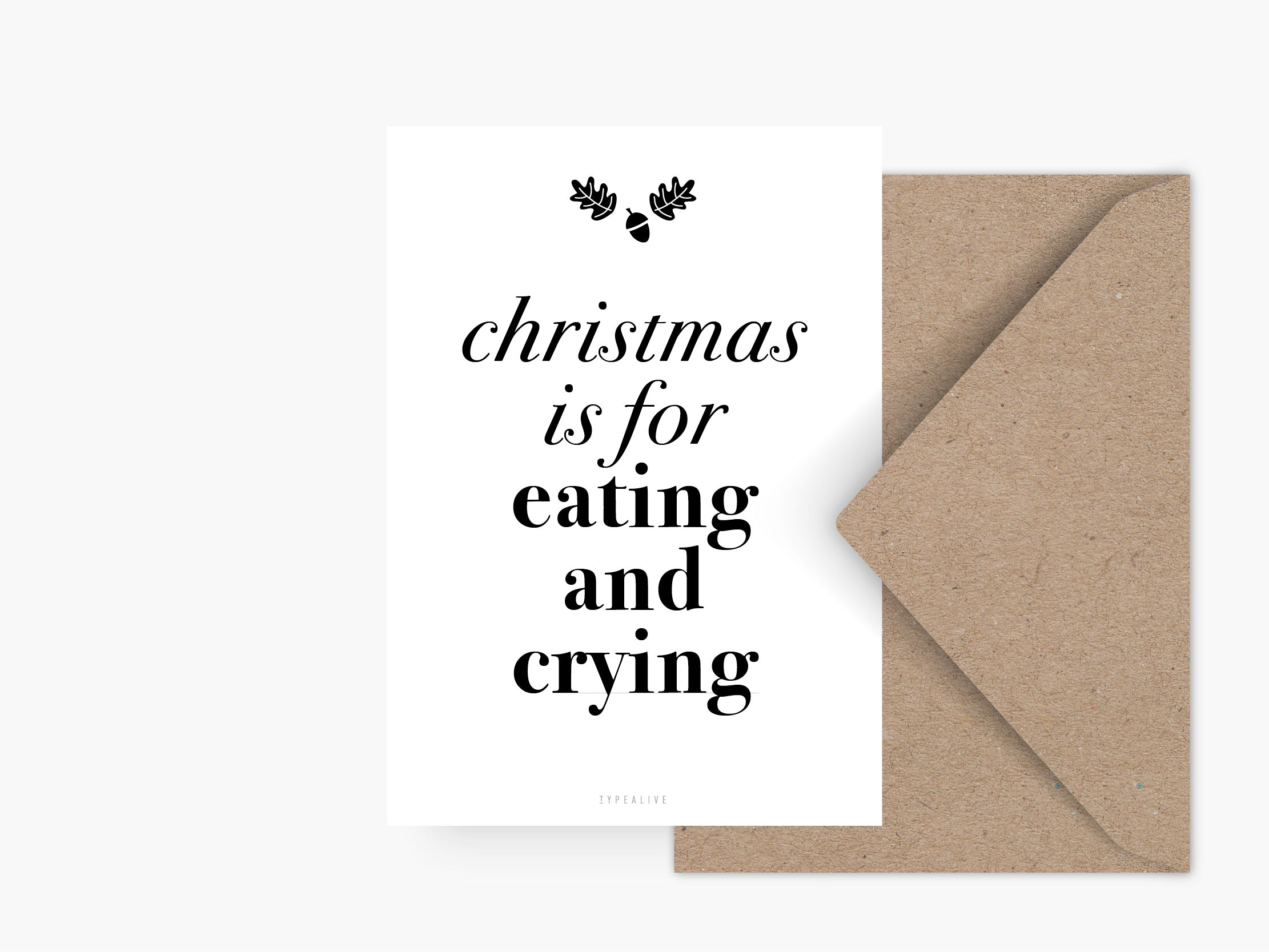 Postkarte / Christmas Is For