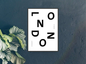 "Print / Cities ""London"""
