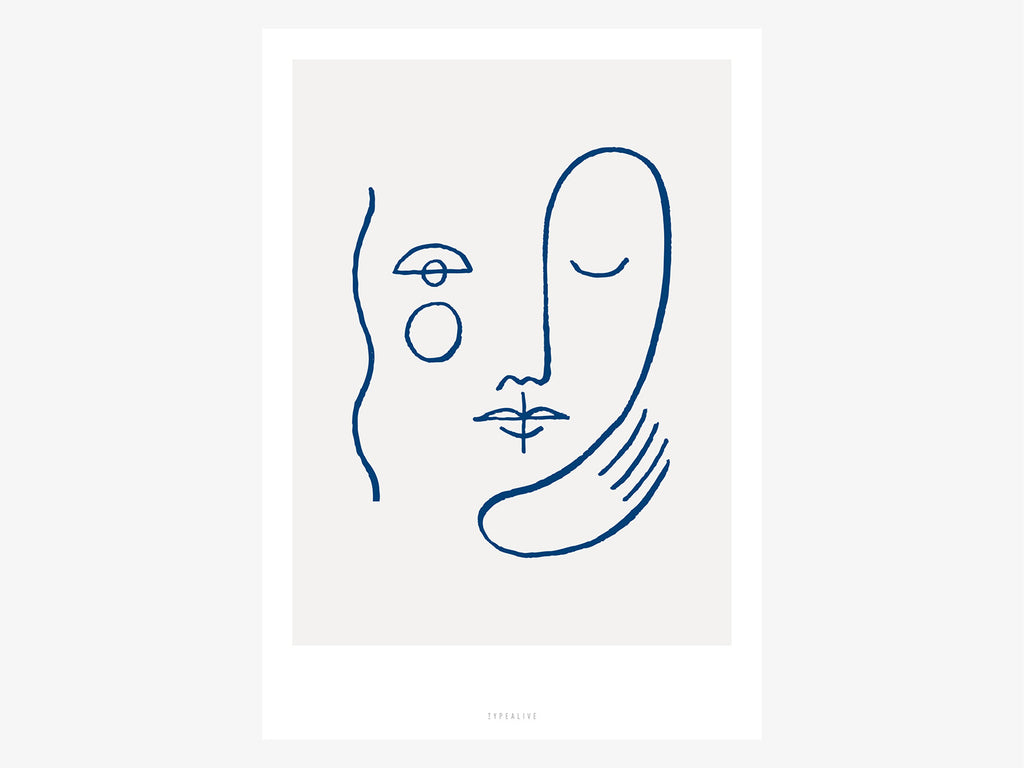 Print / Faces No. 1