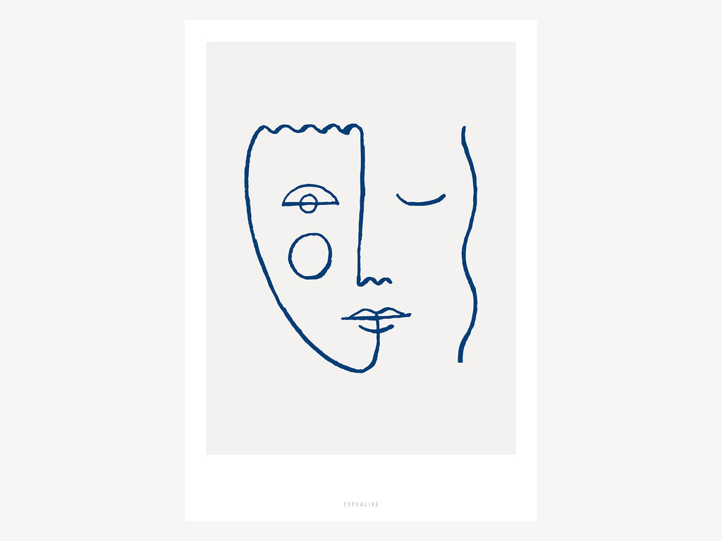 Print / Faces No. 2