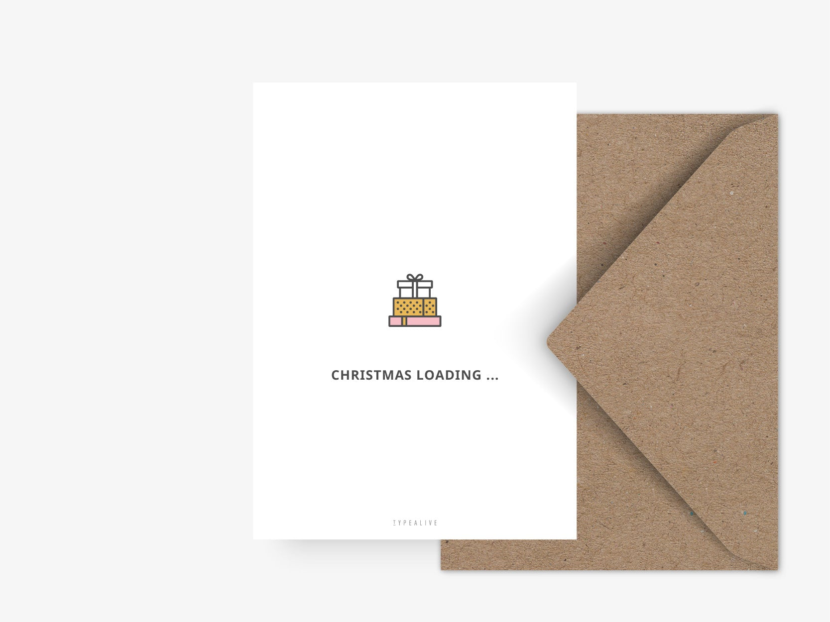 Postkarte / Christmas Is Loading No. 3