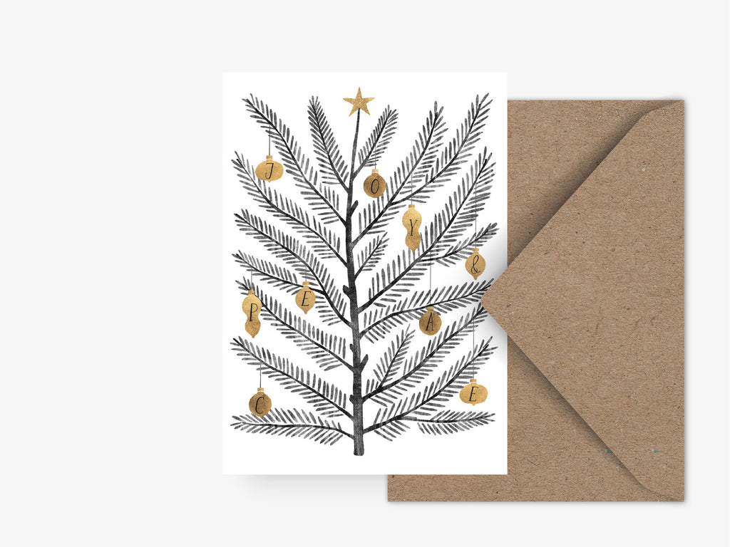 Postkarte / Swedish Fir No. 1