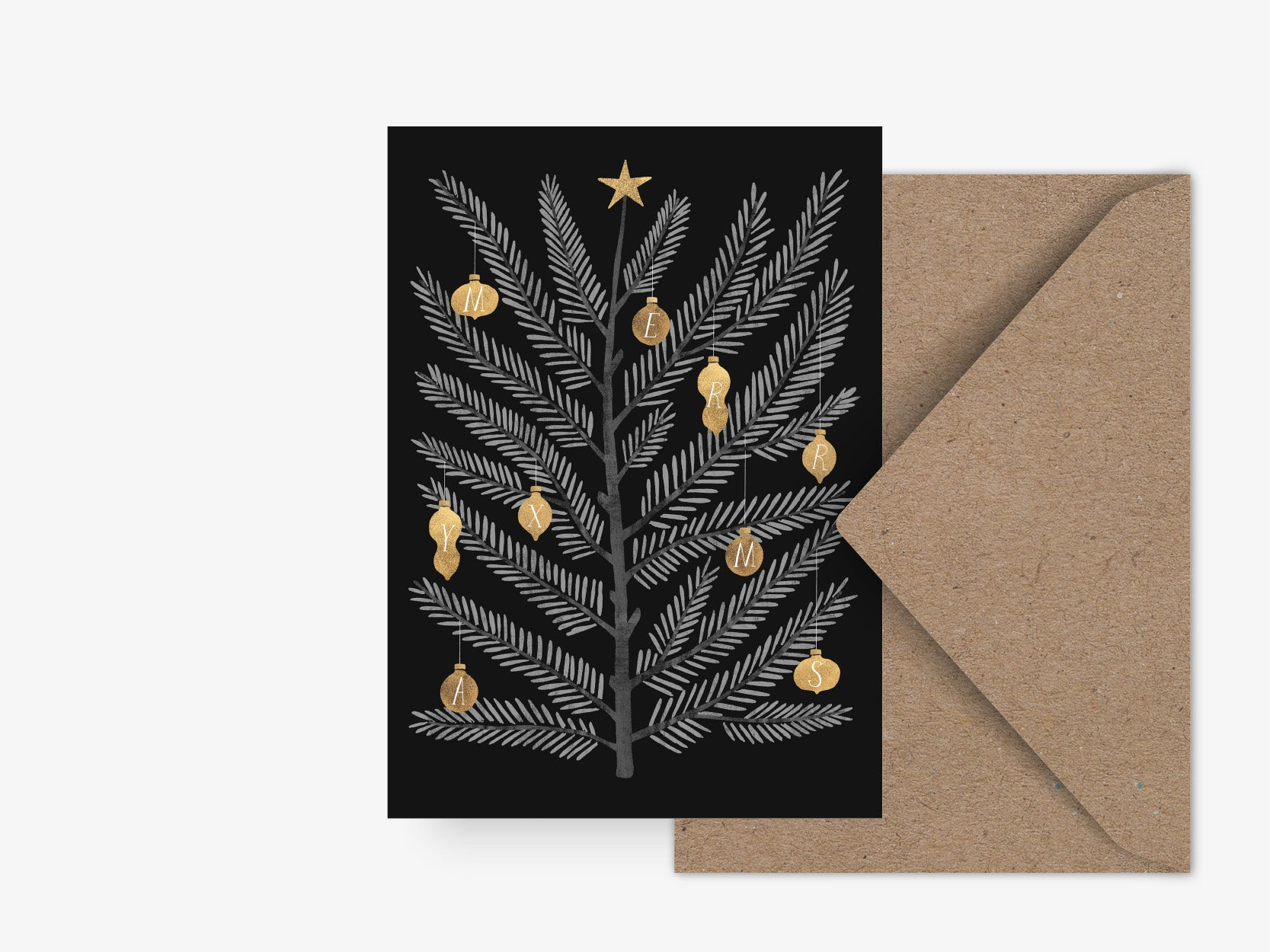 Postkarte / Swedish Fir No. 2