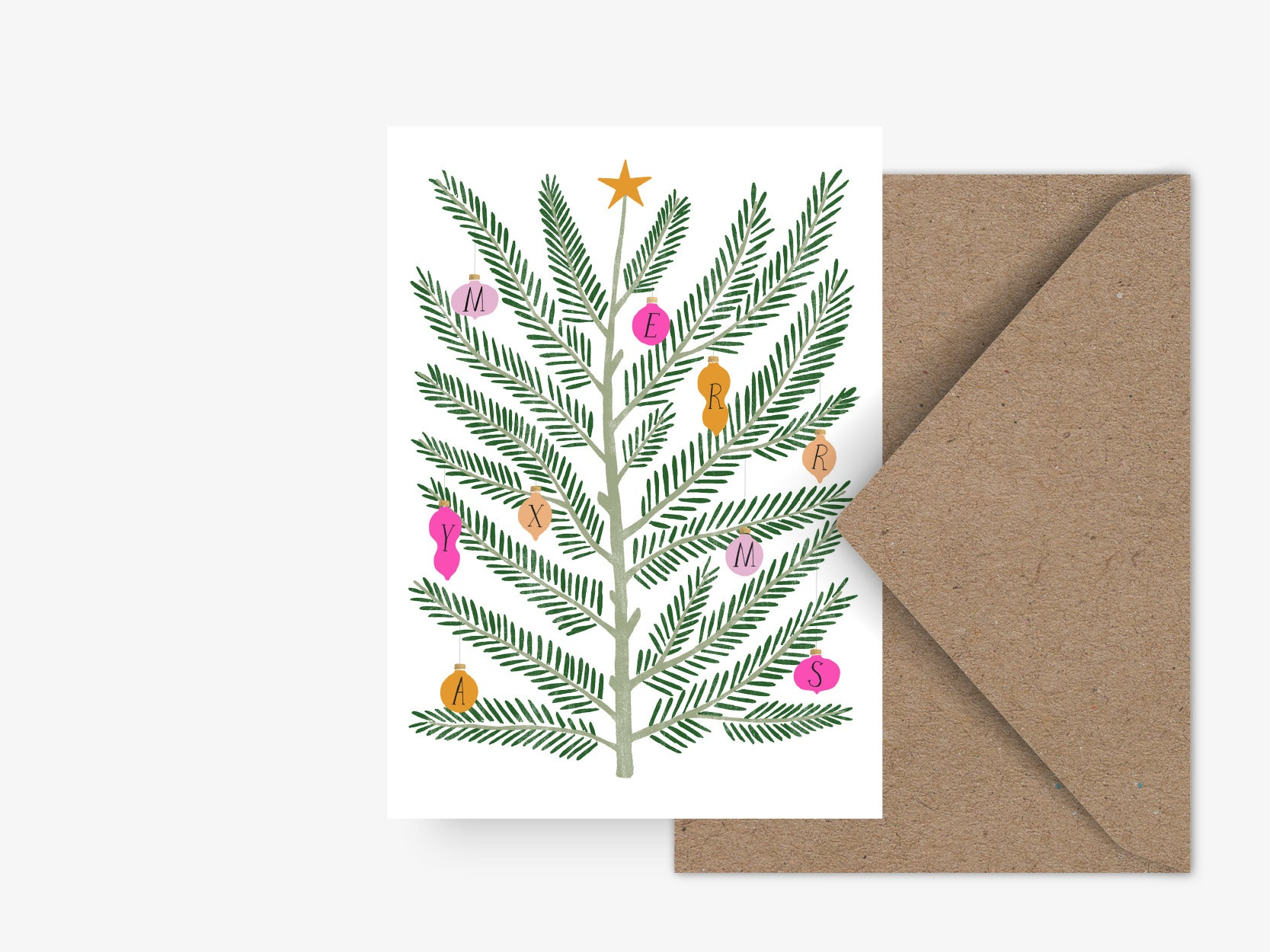 Postkarte / Swedish Fir No. 4
