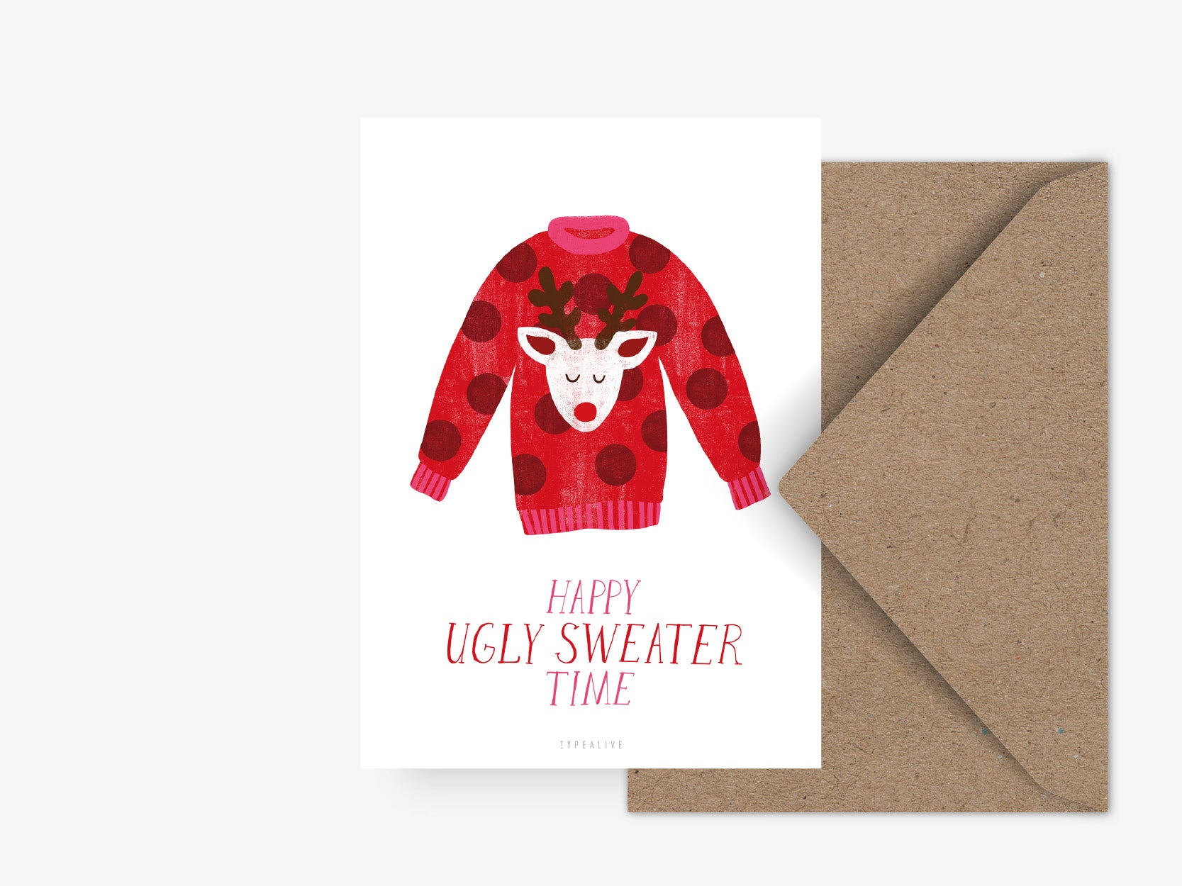 Postkarte / Ugly Sweater No. 1