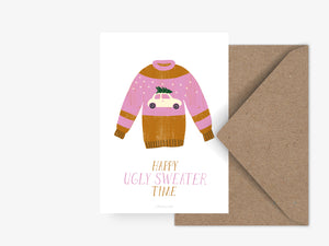 Postkarte / Ugly Sweater No. 3