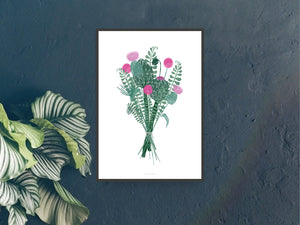 Print / Wallflower No. 1
