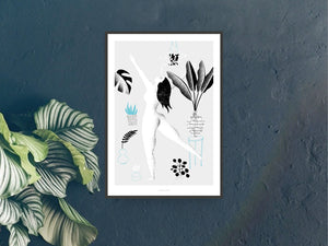 Print / Me And The Plants