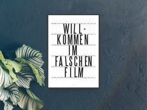 Print / Falscher Film