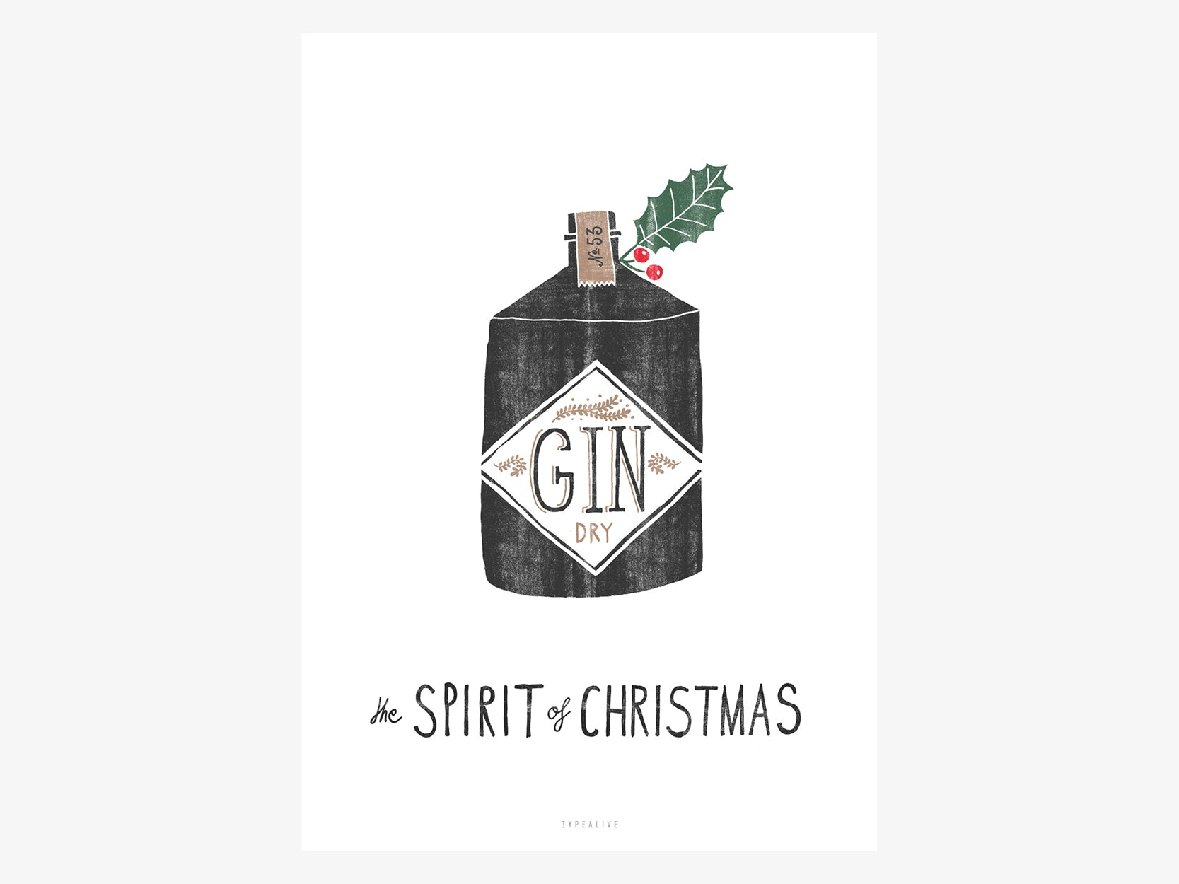 Print /  Spirit of Christmas No. 2