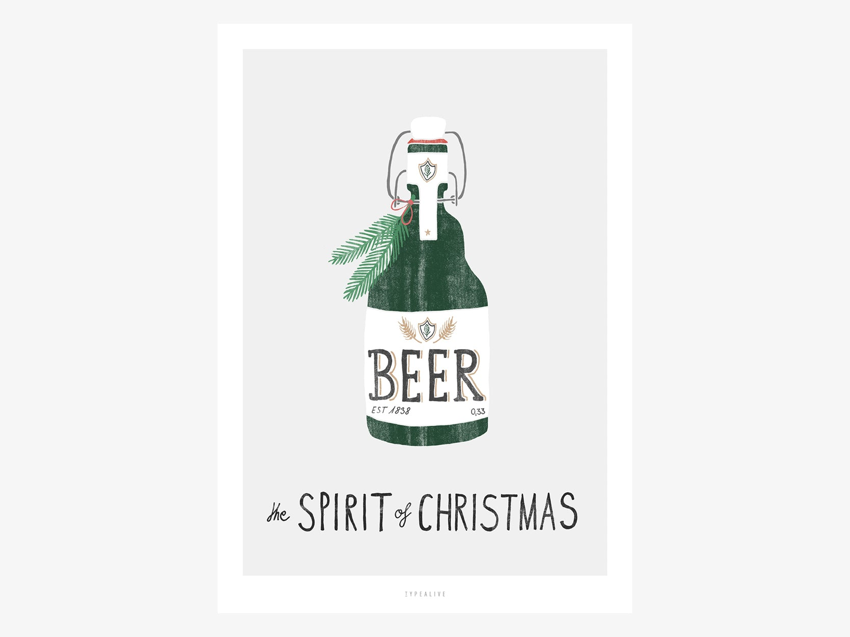 Print /  Spirit of Christmas No. 3