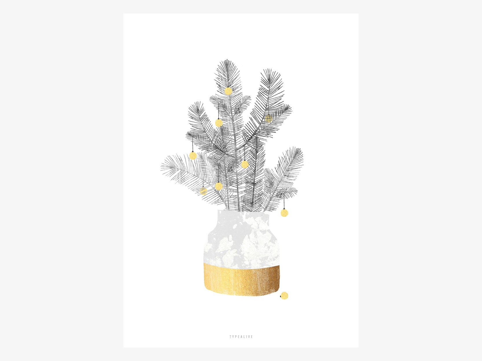 Print / Urban Christmas No. 1