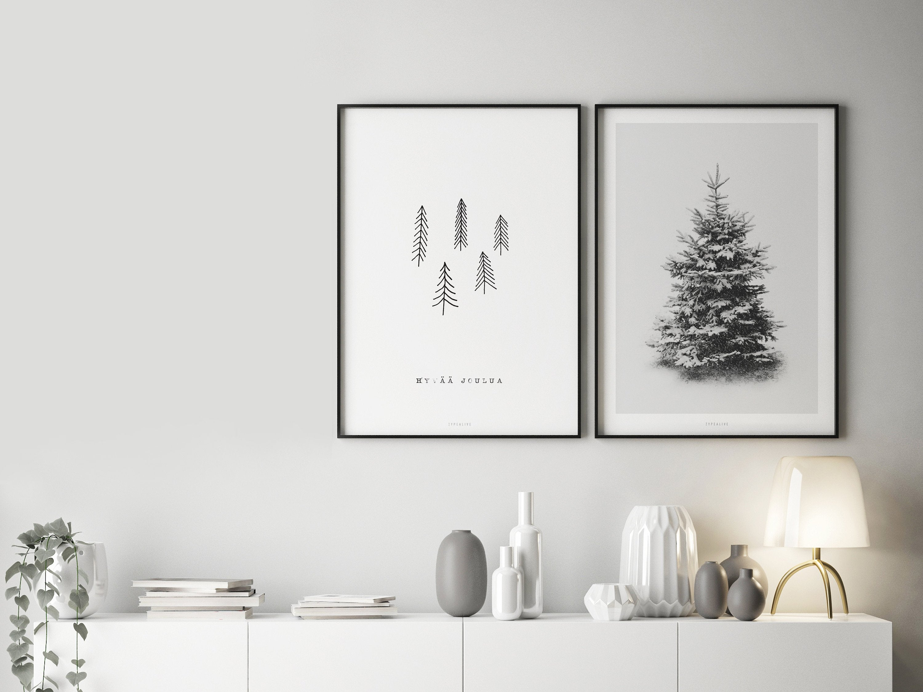 Print / Finnish Christmas