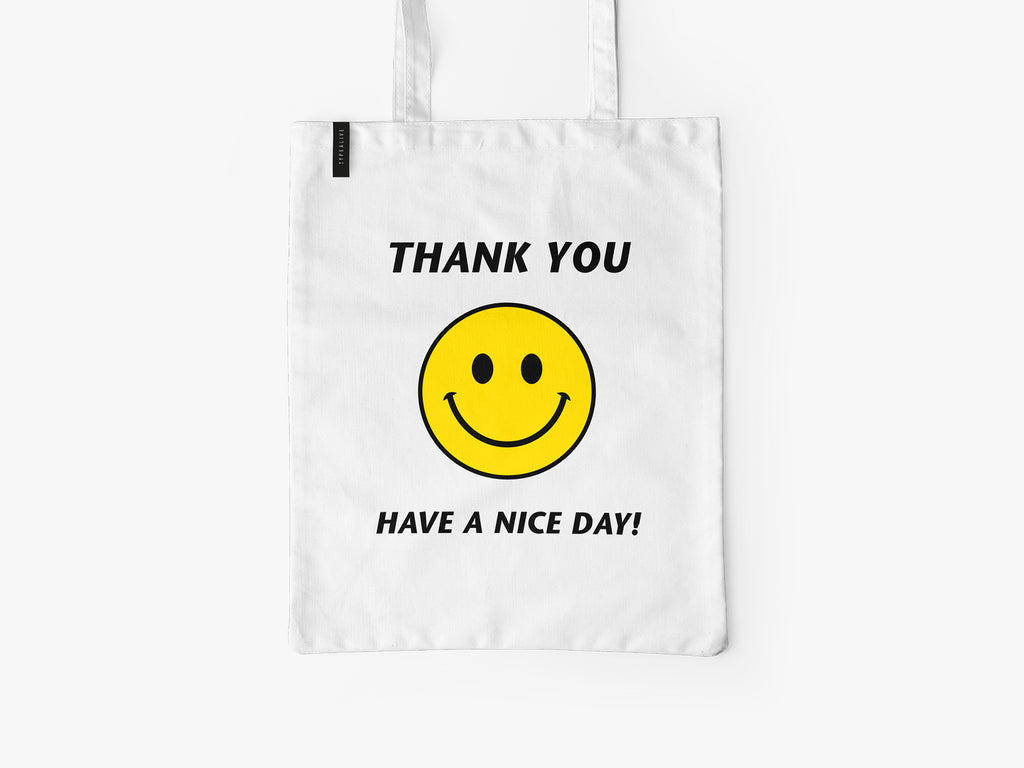 Baumwolltasche / Thank You