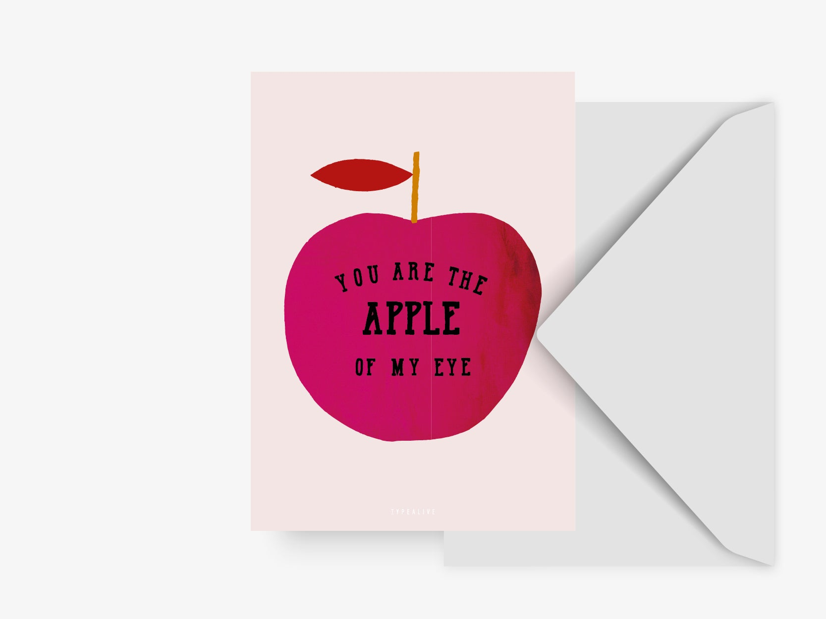 Postkarte / Apple Of My Eye