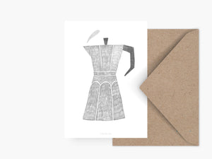 Postkarte / Coffee Pot