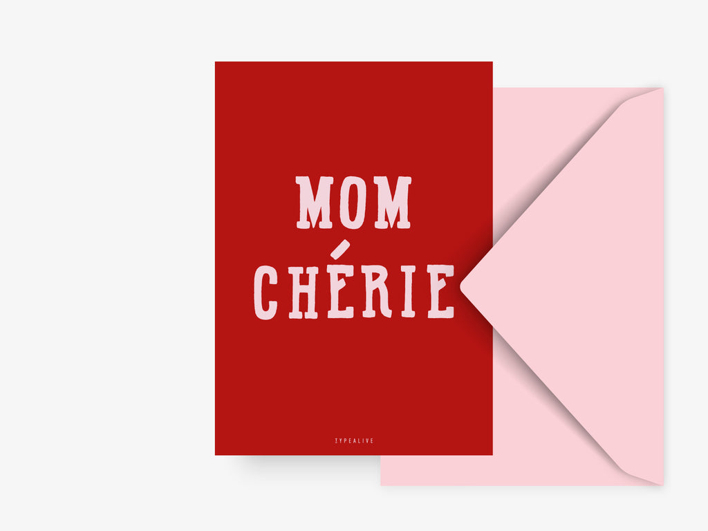 Postkarte / Mom Cherie No. 1
